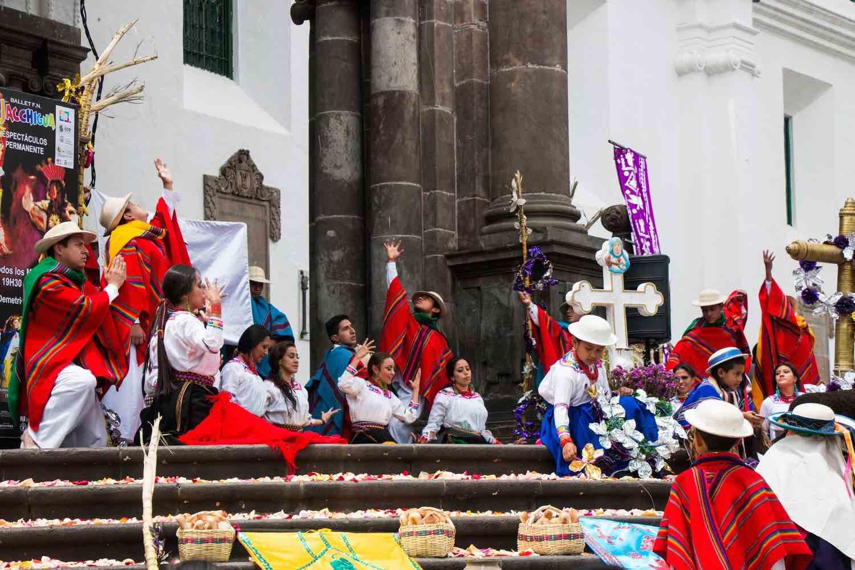 Quizá Plaza Mayor i Ecuador
