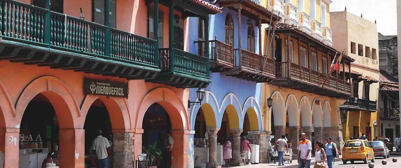 Rejser til Colombia - Cartagena
