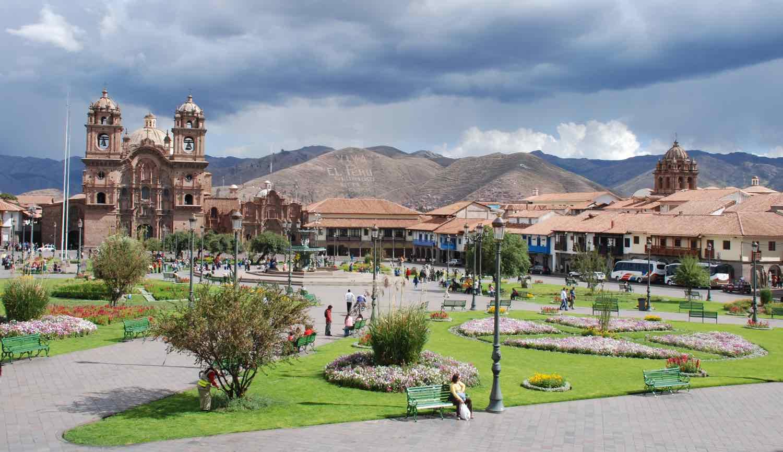 Natur og arkitektur i Cusco