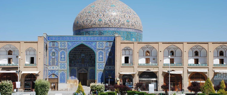 Shahmoské på Emam-pladsen i Isfahan