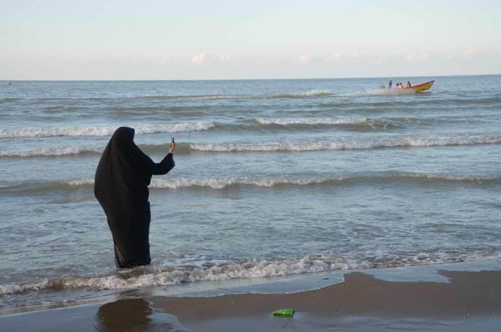 Kvinde i den Persiske Golf