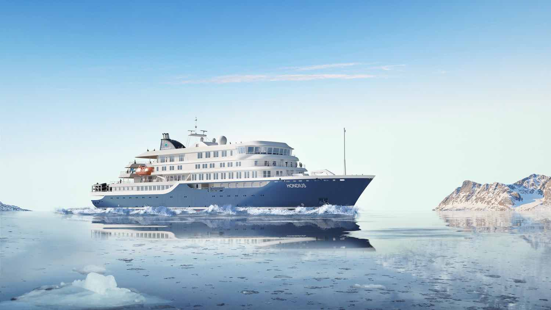 Ekspeditionscruise Hondius i det antarktiske ishav