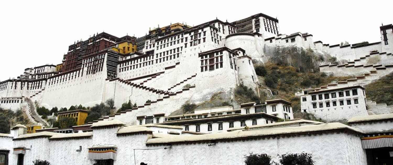 Potala palads i Lhasa