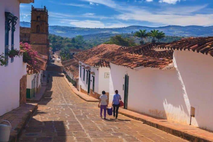 Barichara i Colombia