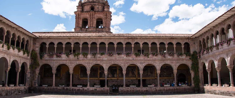 Bygning i Cusco
