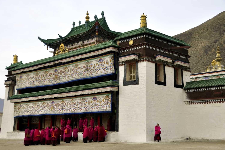 Rejser til Tibet og Labrang