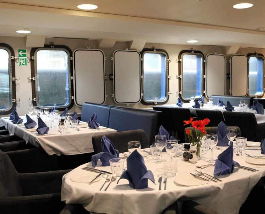 Undervisningsrum på cruiseskibet Plancius