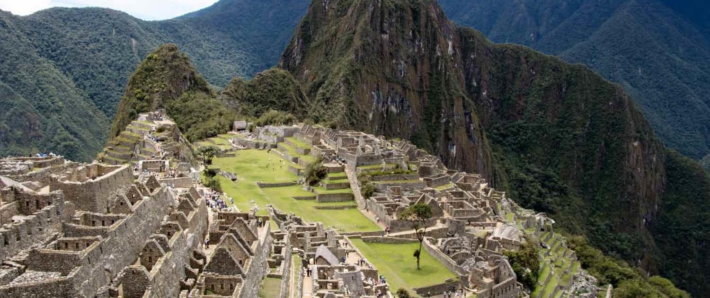 Macchu Pichu set oppefra
