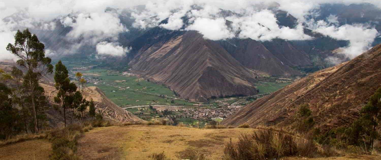Urubamba-dalen i Peru