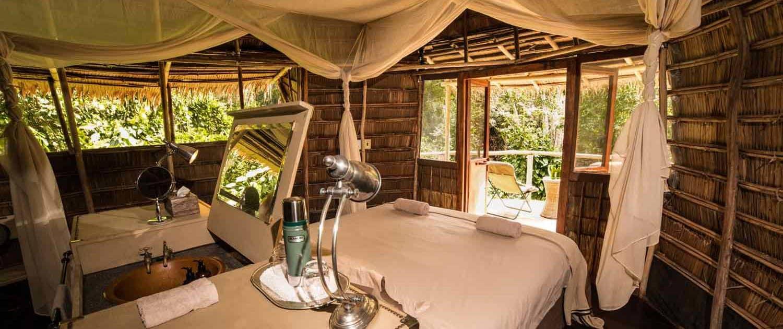 Luksus soveværelse på eksklusiv rejse til Congo