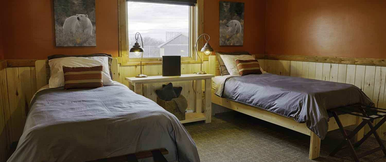 Nanuk soveværelse - Churchill Wild Lodge