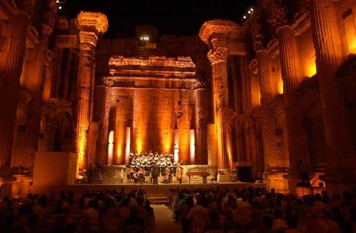 Baalbek-festival i Libanon