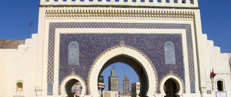 Bab Boujeloud i Marokko