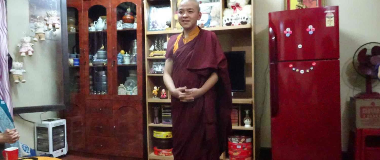 Bhutanesisk munk