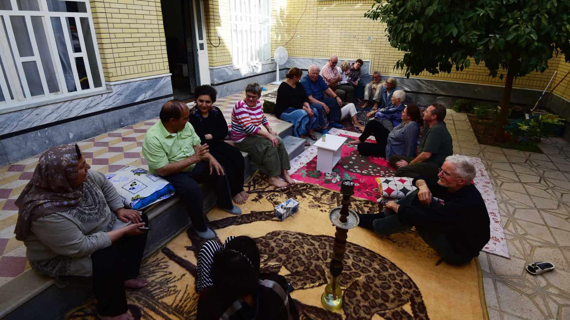 På besøg hos iranerne i Shiraz