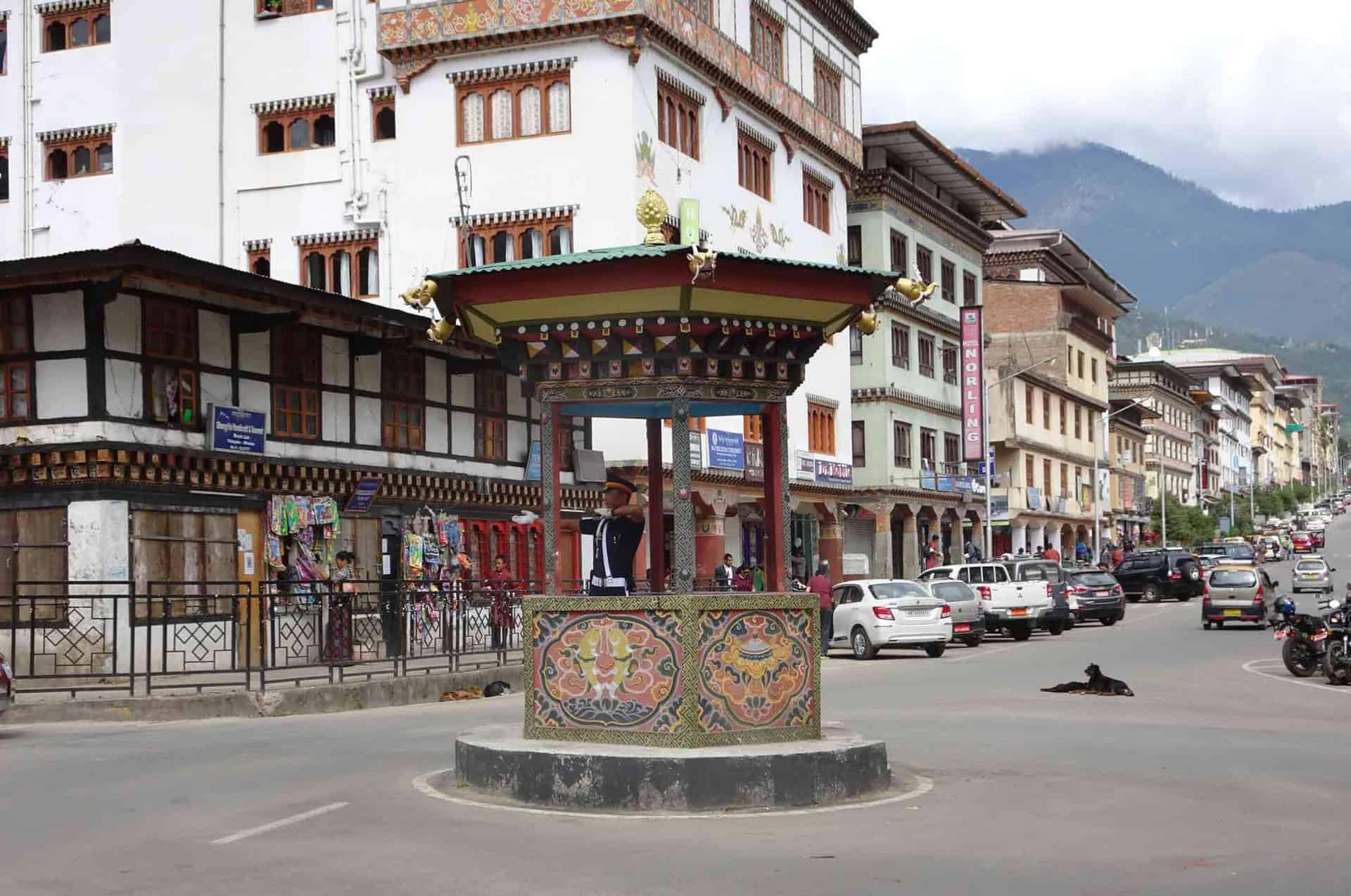 Thimphu hovedgade