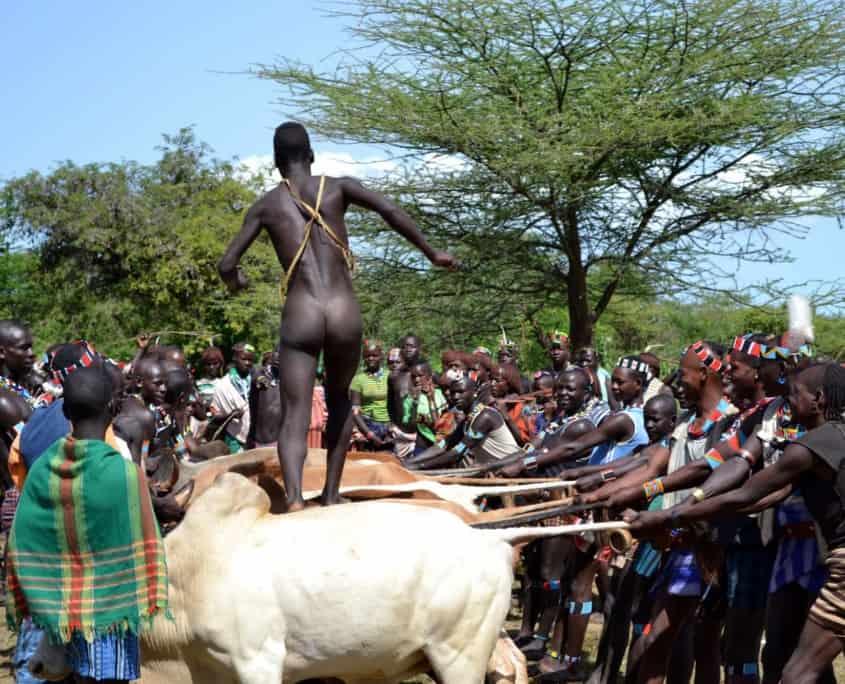Ritual hos hamerfolket i Etiopien