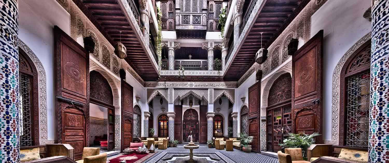 Riad i Salam i Marokko