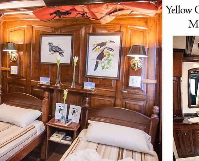 Yellow Stateroom på M/Y Tucano