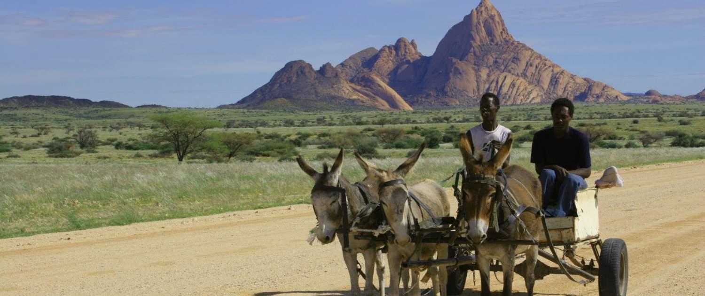 Transport gennem Namibia