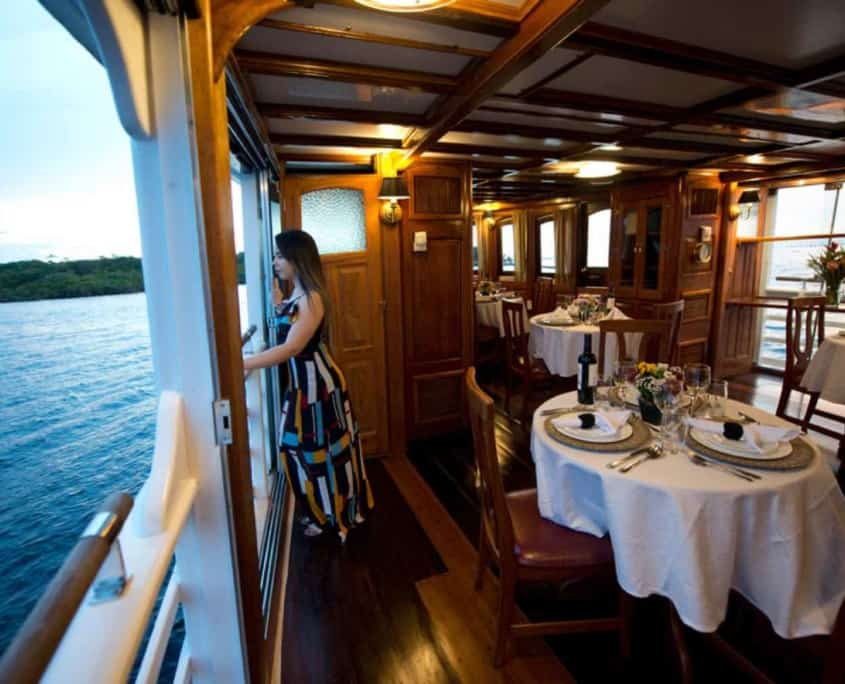 Rejser til Amazonas på cruiseskib