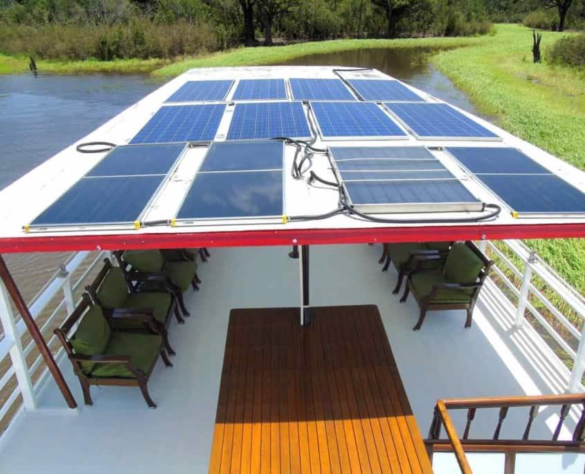 Solcelleenergi på cruiseskib