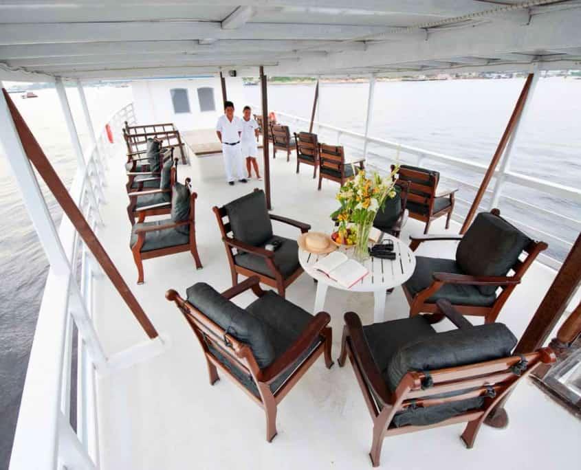Ombord på cruiseskib