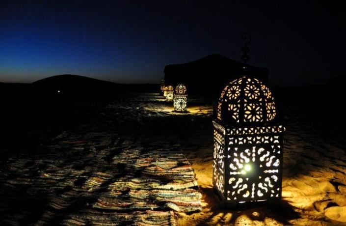 1001 nas eventyr i Nuit i Marokko