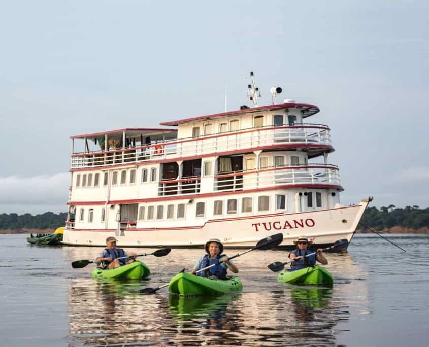 Tucano cruise Amazonas