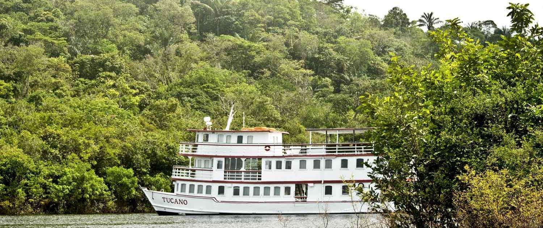 rejser til Amazonas med cruiseskib