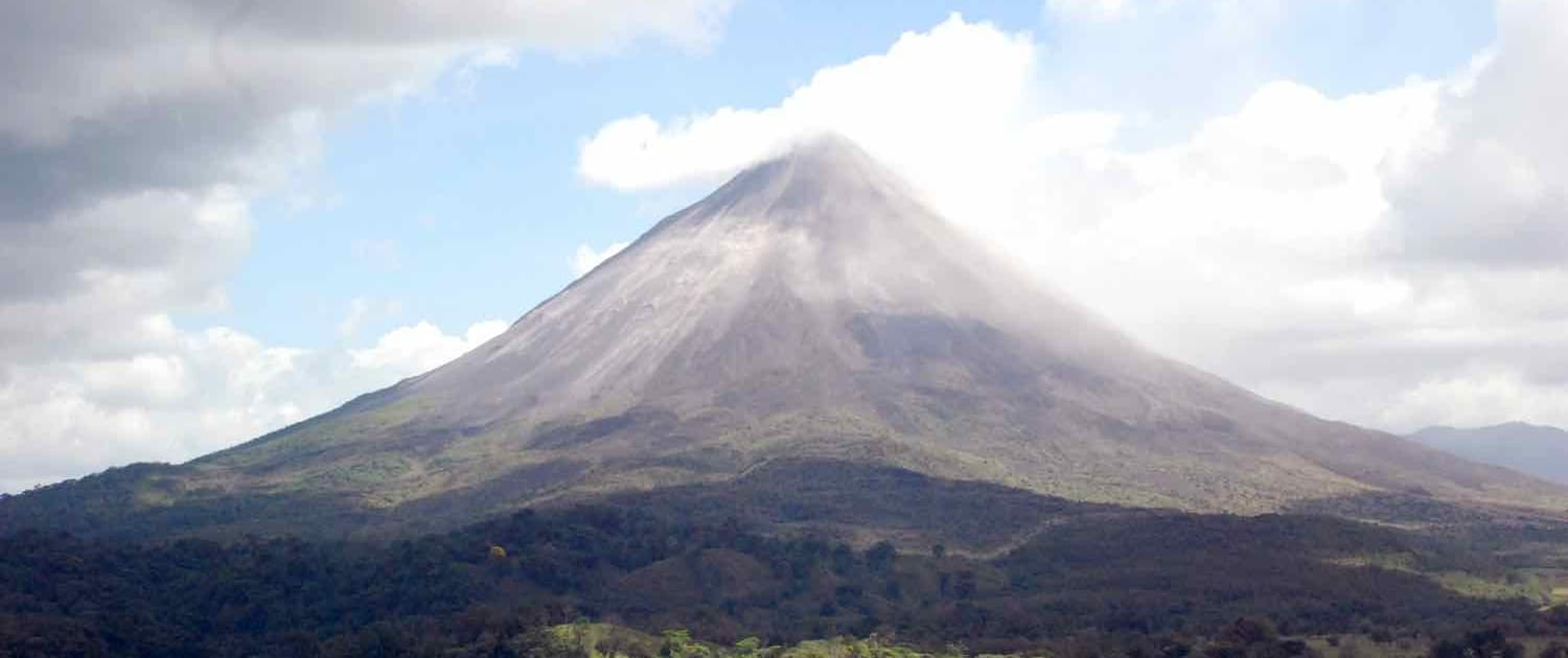 arenal bjerg i Costa Rica