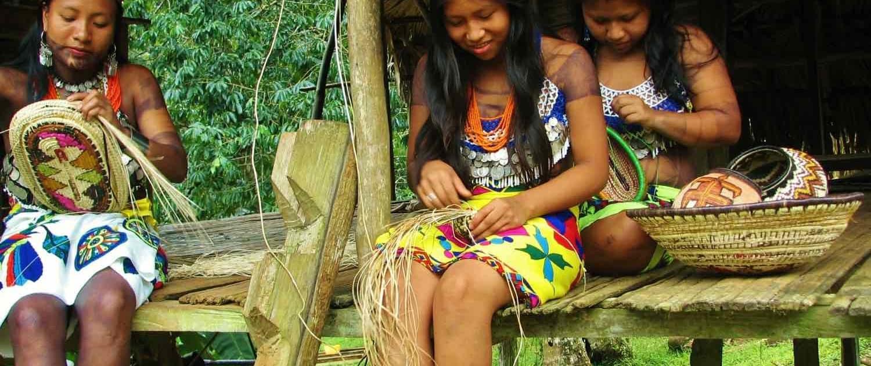 Embera stammefolk i Panama
