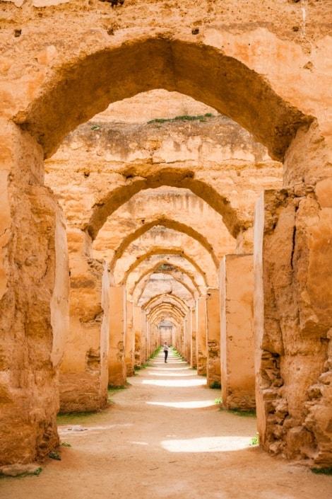 Meknes i Marokko