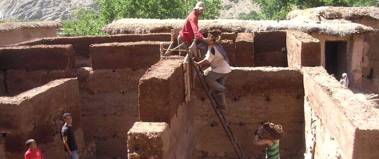 berberlandby i Marokko
