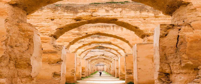 Arkitektur i Meknes i Marokko