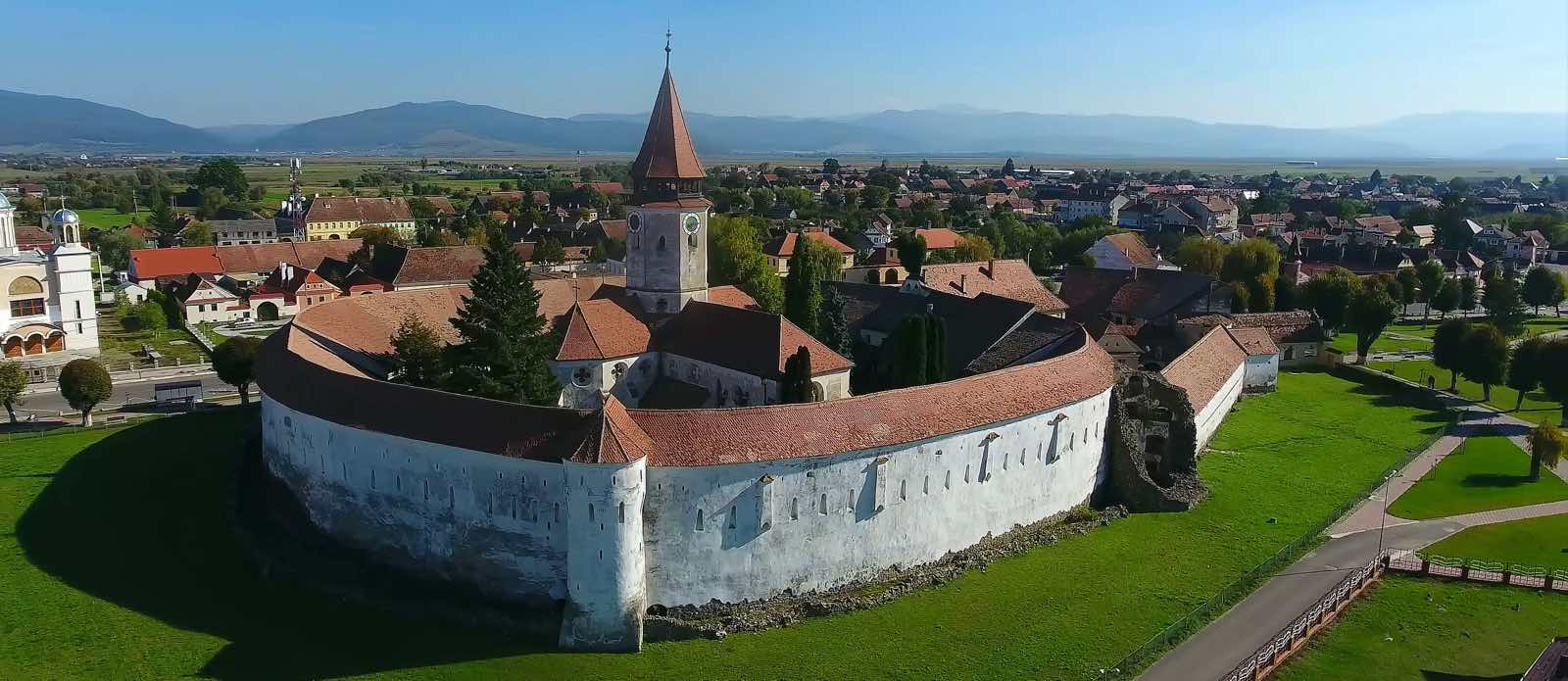 Prejmer befæstet kirke i Rumænien