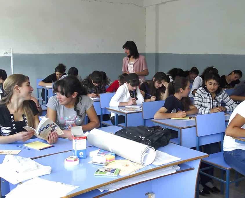 gymnasieklasse armenien