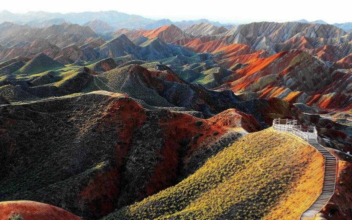 Gansu Zhangye National Geopark