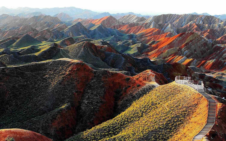 Gansu Zhangye National Geopark