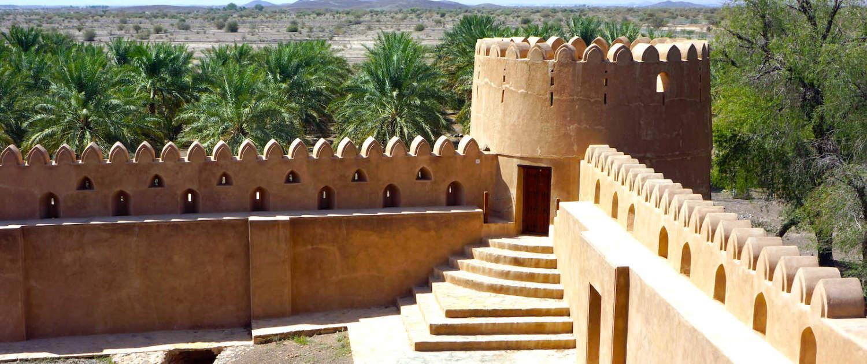 Jabreen Castle på rejse til Oman