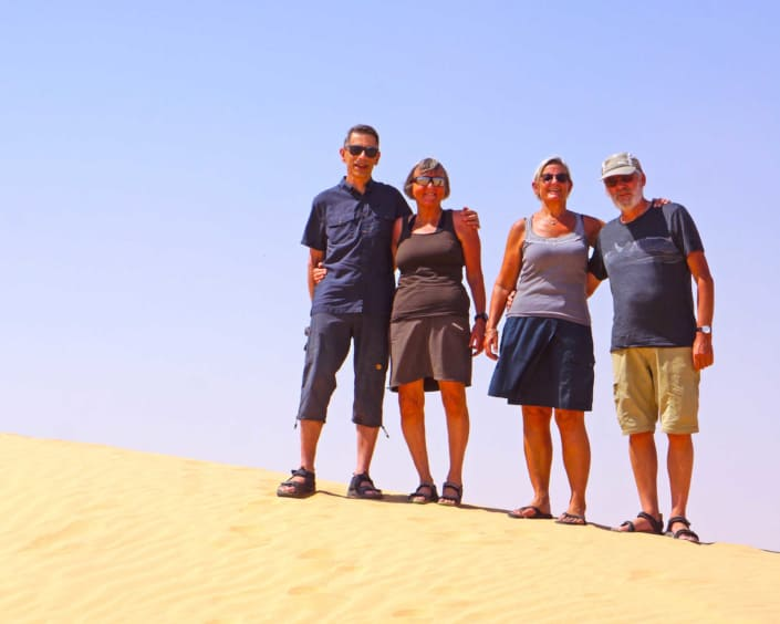 Ørken på ferie i Oman