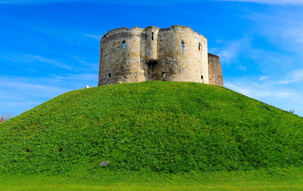 England - York - Clifford's Tower