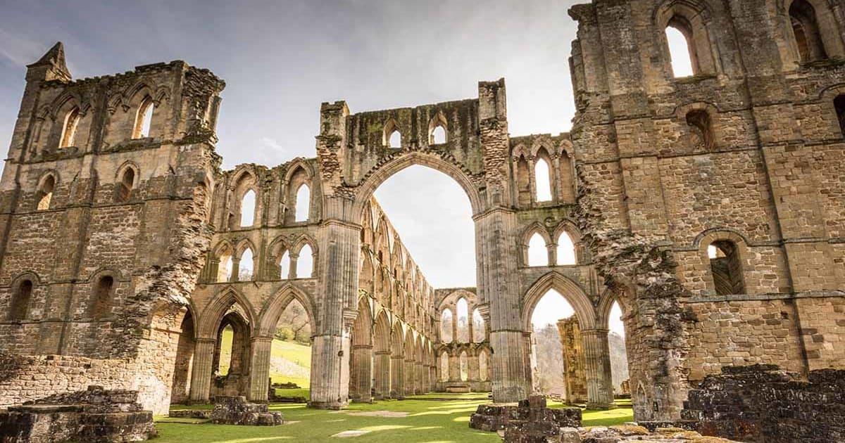 England - Yorkshire - Rievaulx kloster
