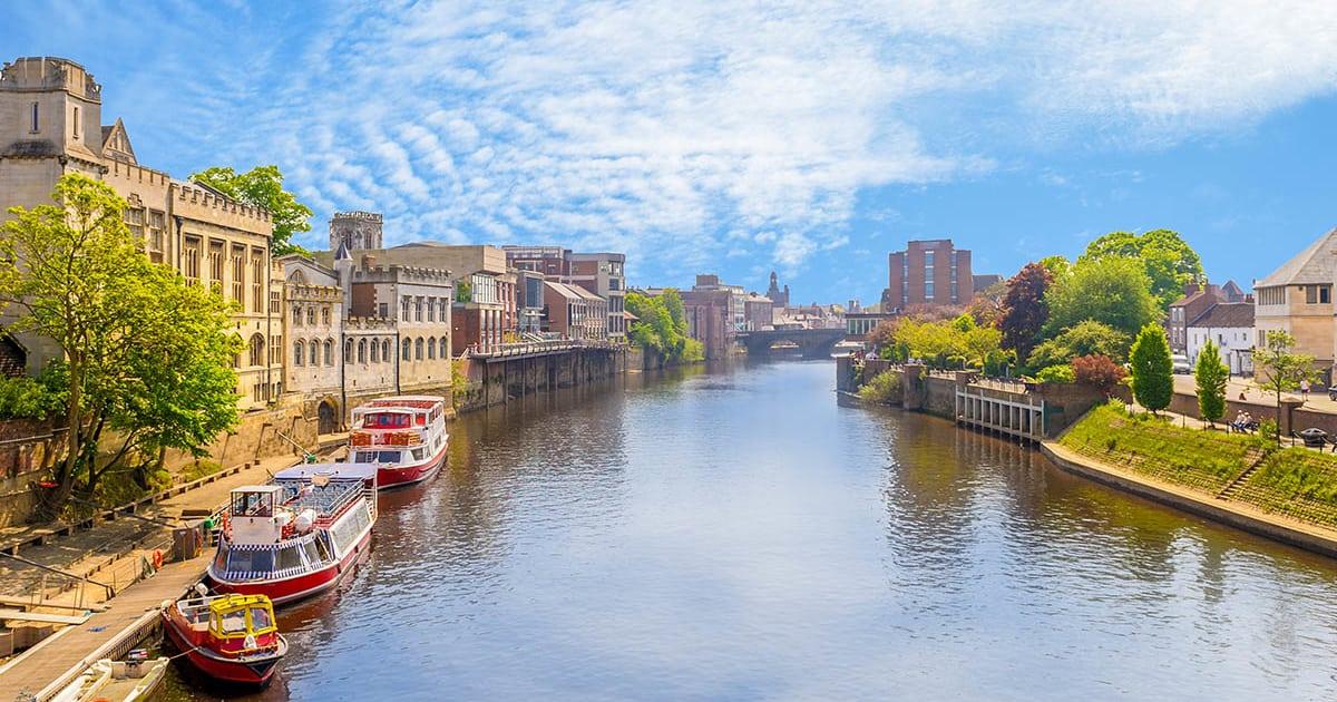 Ouse-floden York