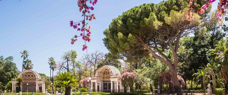 Palermo Botanical Gardens (Orto Botanico), Palermo, Sicily, Ital