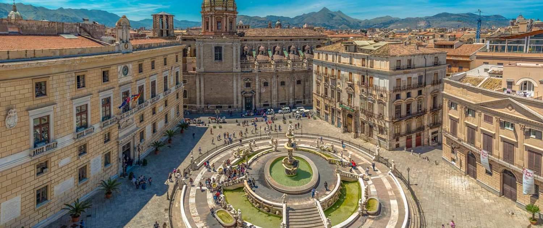 Piazza Pretoria i Palermo