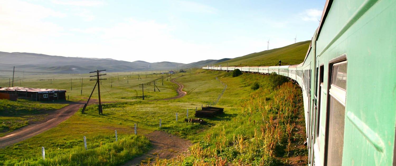 transsibiriske jernbane