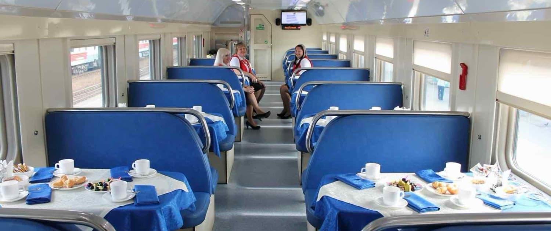 Den Transsibiriske Jernbane - Restaurantvogn