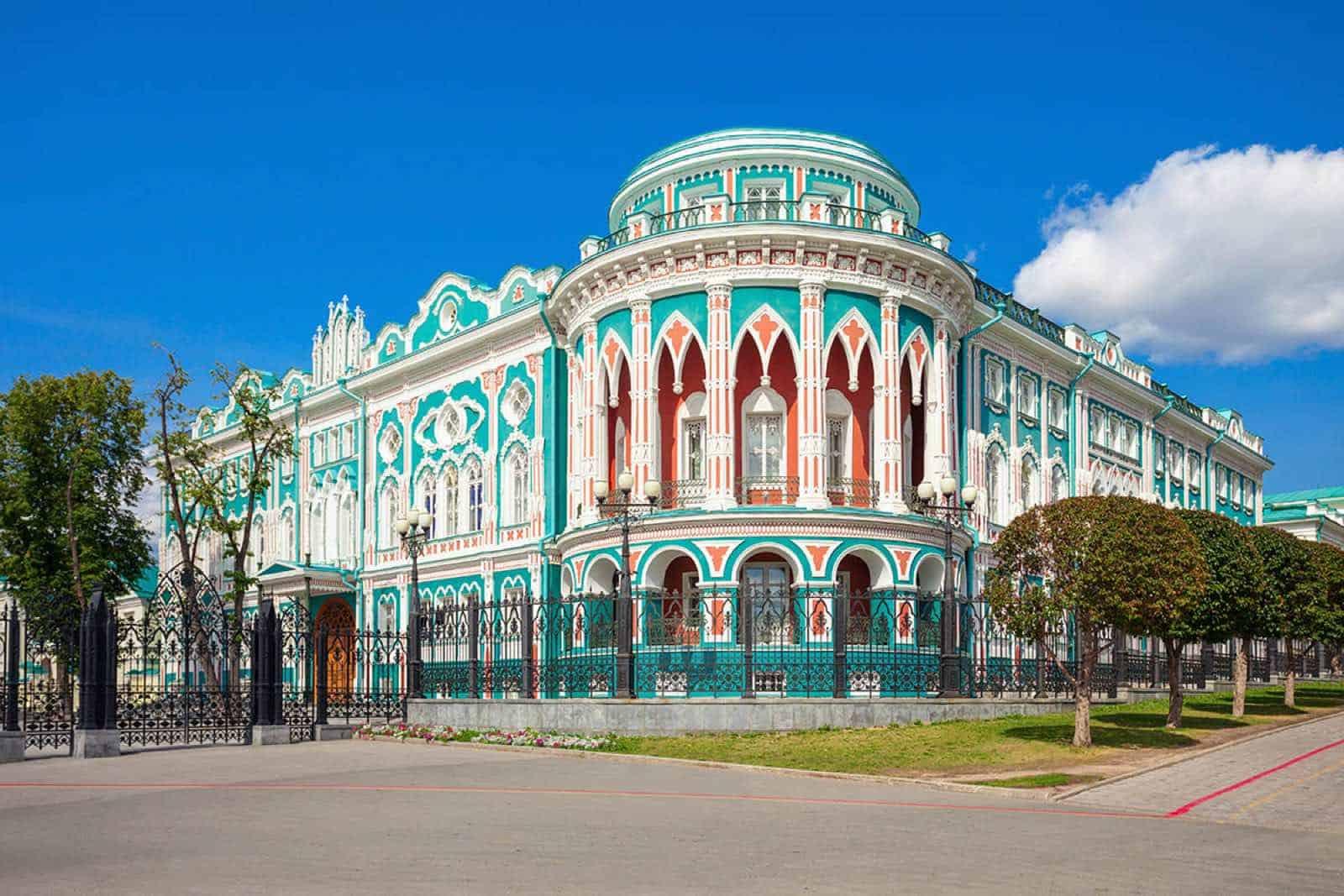 Sevastyanov House i Jekaterinburg