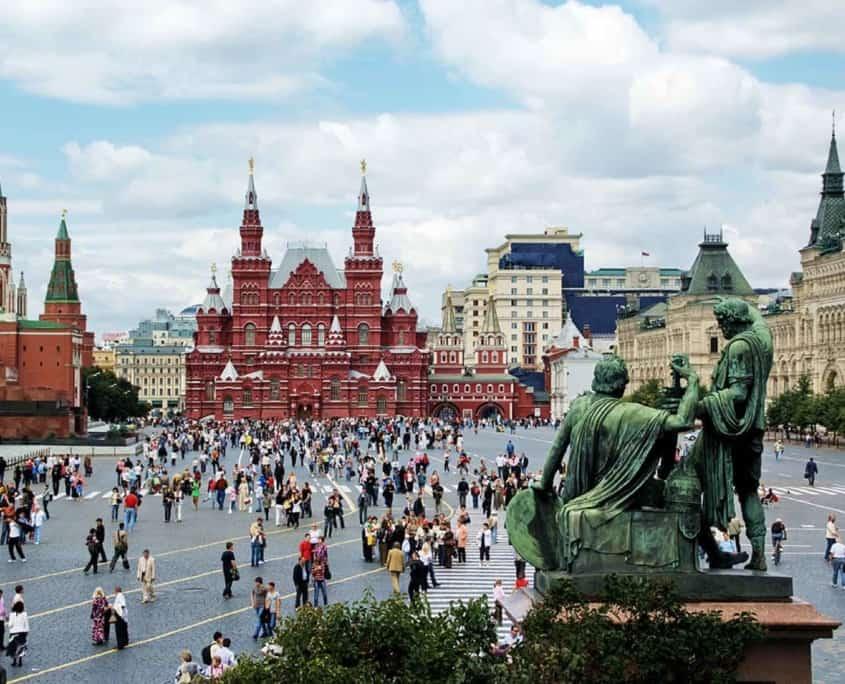 Rusland - Moskva - Den Roede Plads